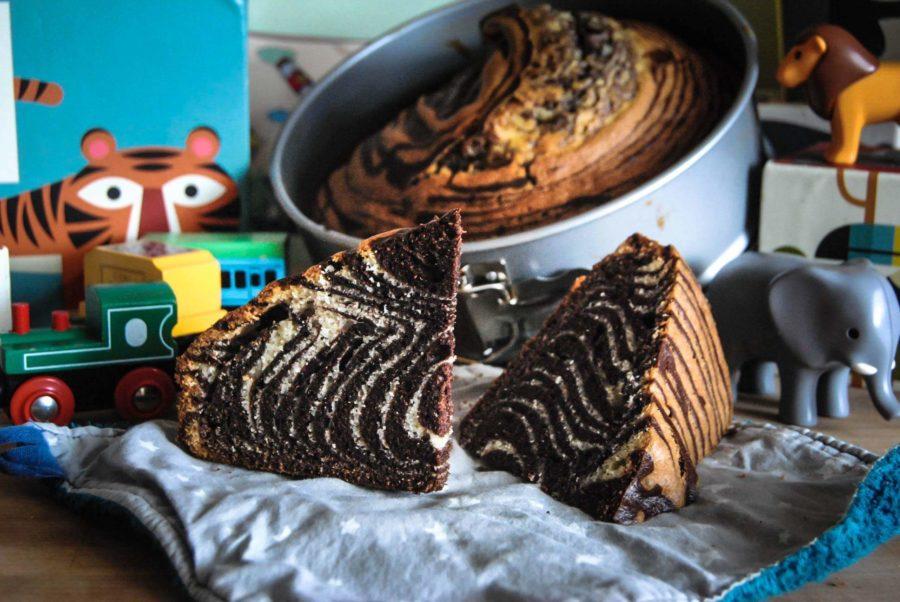 Le Zebra cake, star du goûter