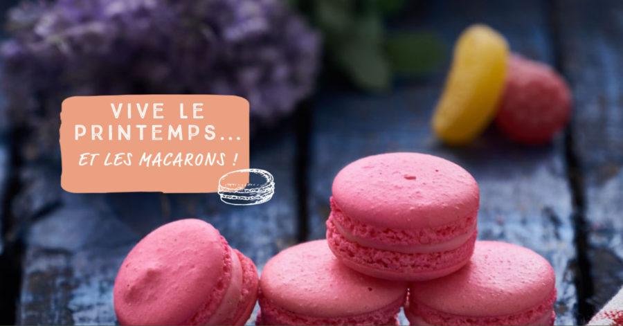 Première vidéo goût macarons pour Patisse !
