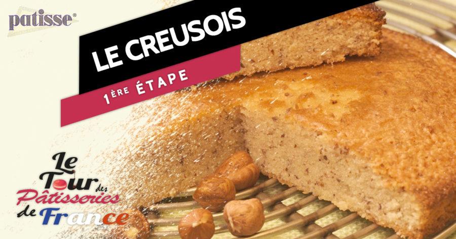 Le gâteau creusois, étape n°1 du tour des pâtisseries de France