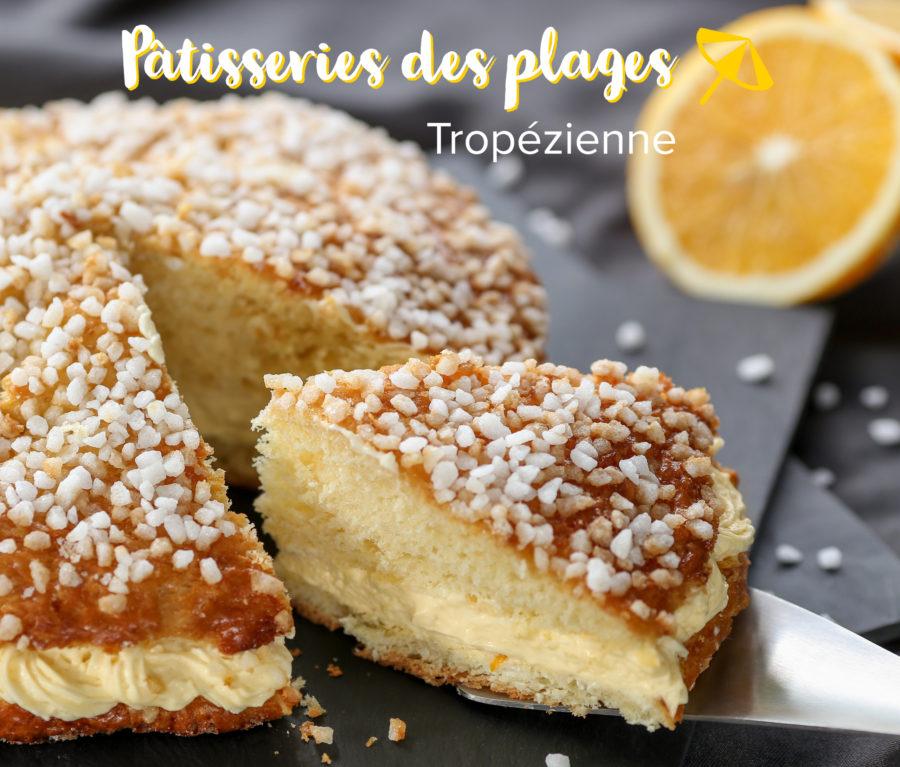La tarte tropézienne, la star des desserts de la côte d'Azur
