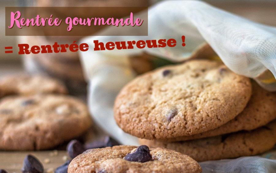 Les cookies, à l'heure du goûter de la Rentrée