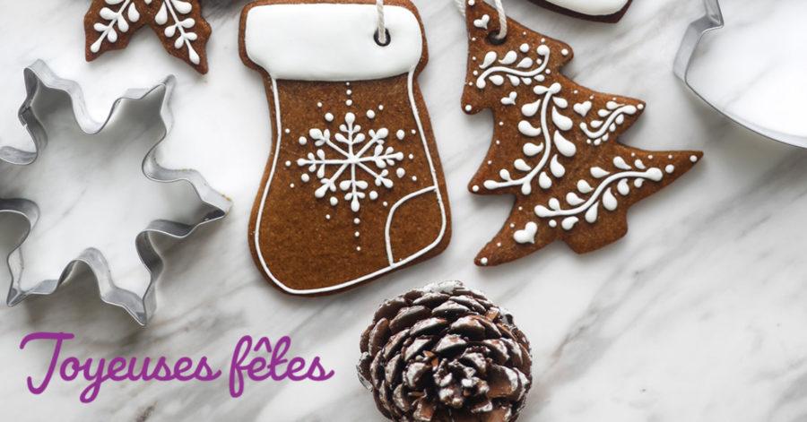 Biscuits pain d'épices de Noël