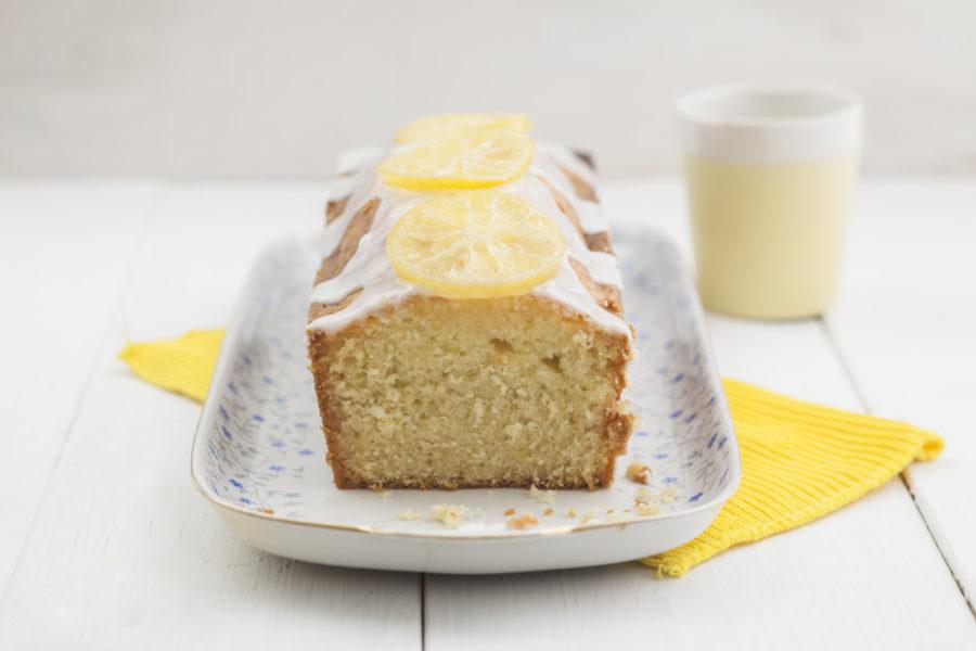 Cake au citron, à emporter !